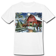 Load image into Gallery viewer, The Christmas Barn Heat Transfer
