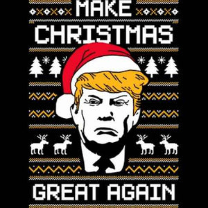 Trump Christmas Heat Transfer