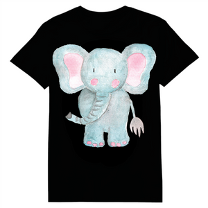 Watercolor Elephant Heat Transfer