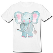 Load image into Gallery viewer, Watercolor Elephant Heat Transfer