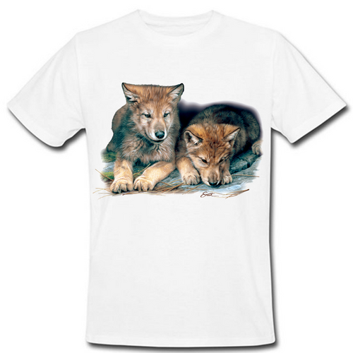 Wolf Cubs Heat Transfer