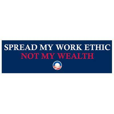 Work Ethic Bumper Stickers