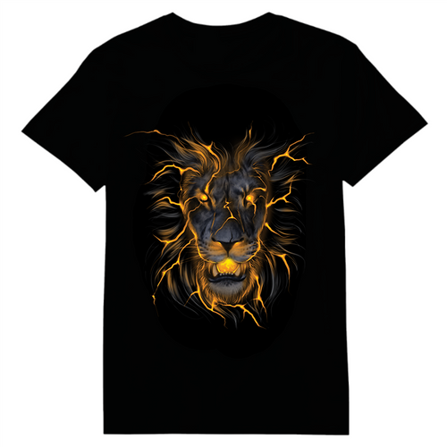 Lion Glow In The Dark Heat Transfer