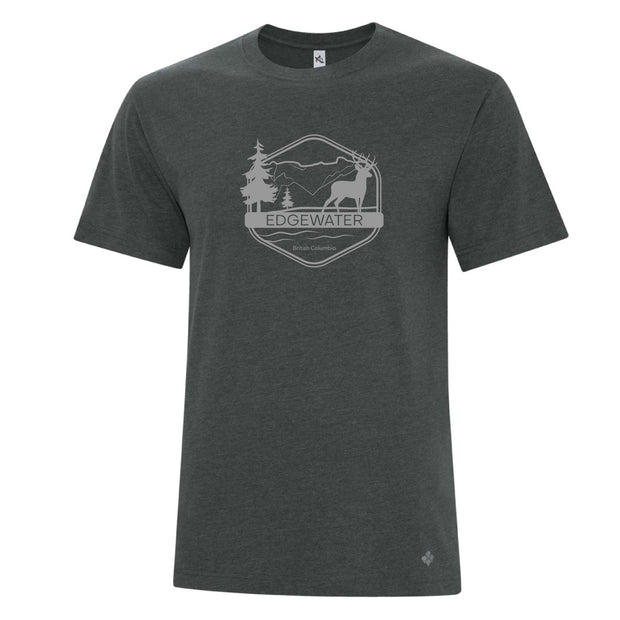 Men's Edgewater t-shirt Charcoal