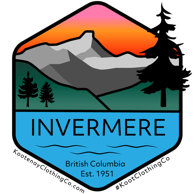 Small Sticker - Invermere