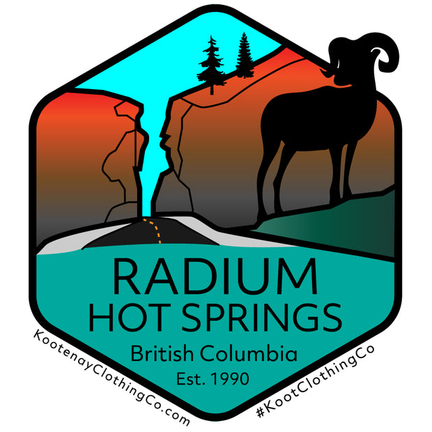 Small Sticker - Radium