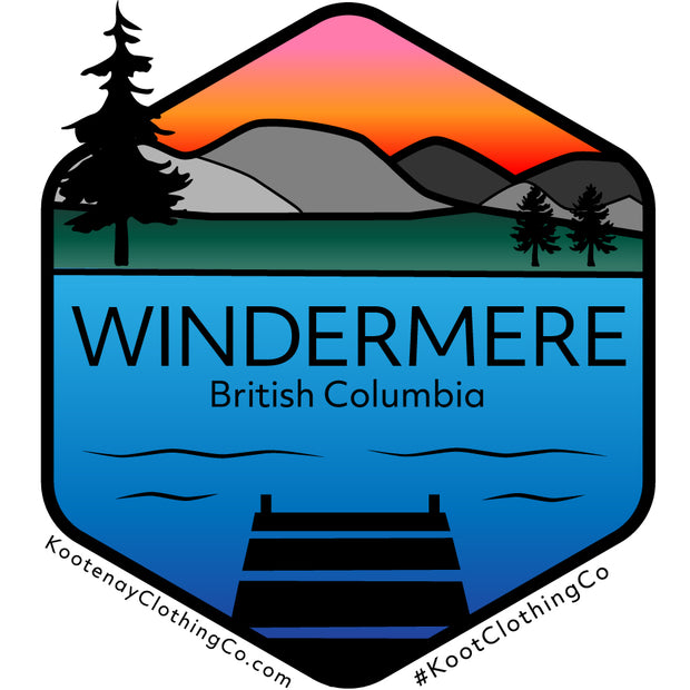 Small Sticker - Windermere