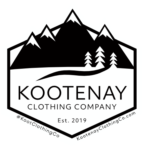 Small Sticker - Kootenay Clothing Co Logo