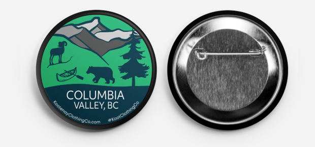 Button - Columbia Valley