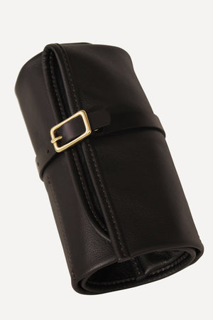 The Signature Watch Roll - Black