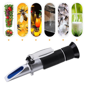 0-28% Salinity Refractometer Salinometer Digital Food Salinity Meter Tester Tool with Retail Box Hand Held Optical Instruments