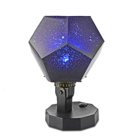 Romantic Fantastic DIY Season Star Projector Light Astro Star Night Lamp Twelve Constellations Pattern Display with Power Supply Fit for Father's Day Gift