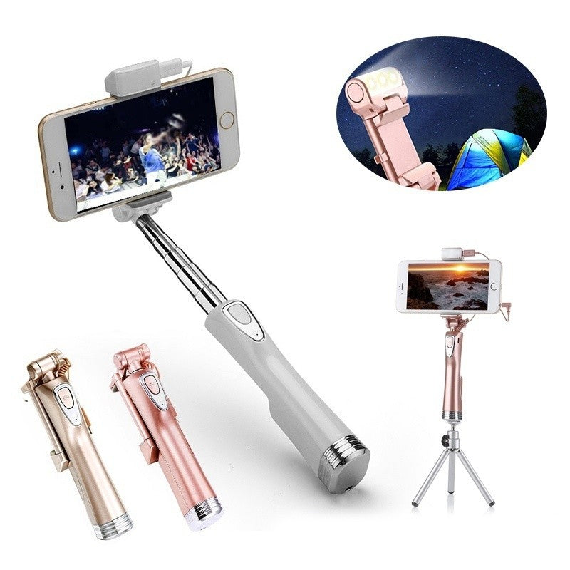 Bluetooth Foldable Selfie Stick Wireless Remote Control Sticker for iPhone, Samsung, and other Android phones