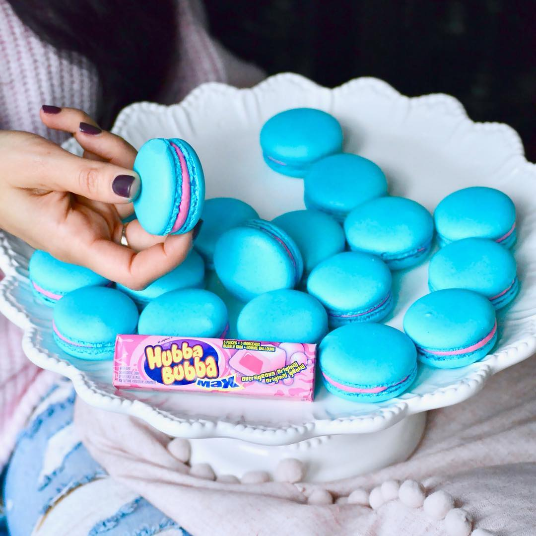 Bubble Gum French Macaron (6 pack)