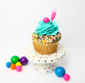 Bubble Gum Cupcakes (12) - Chick Boss Cake
