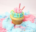 Cotton Candy Cupcakes (12) - Chick Boss Cake