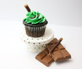 Chocolate Mint Cupcakes (12) - Chick Boss Cake