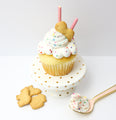 Dunk-A-Roo Cream Cheese Cupcakes (12) - Chick Boss Cake