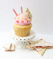 Strawberry Pop Tart Cupcakes (12) - Chick Boss Cake