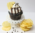 Chocolate Potato Chip Cupcakes (12) - Chick Boss Cake