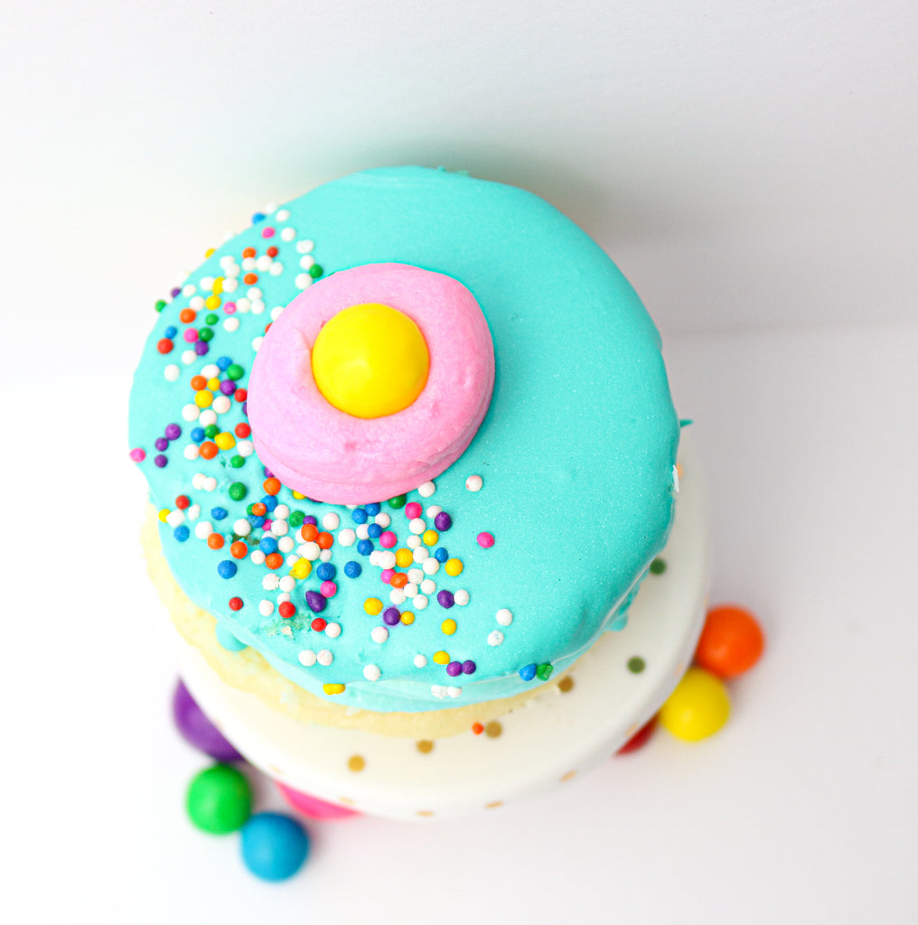 Bubble Gum Cake Donuts (12)