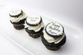 Custom Text Cupcakes (12) - Chick Boss Cake London Ontario