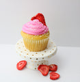 Strawberry Vegan Cupcakes (12) - Chick Boss Cake