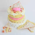 Strawberry Pop Tart Cake Donuts (12) - Chick Boss Cake London Ontario