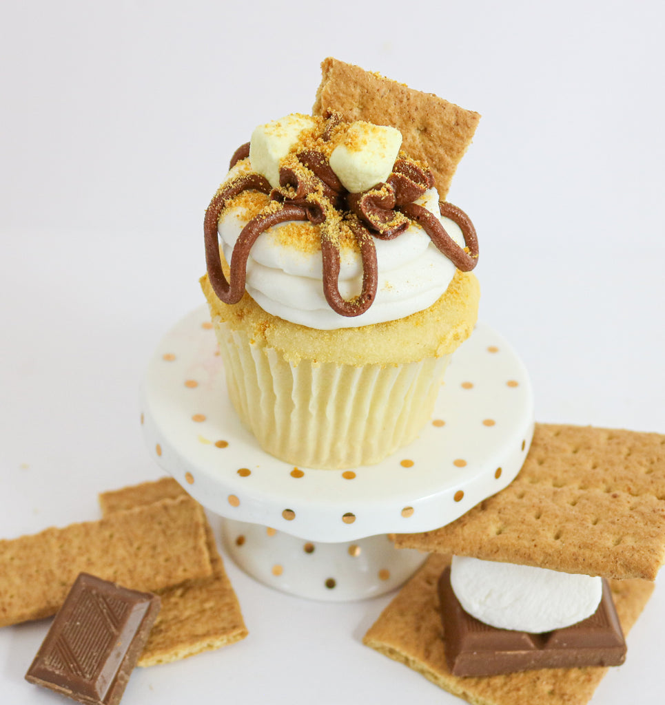 I Love You S'more Cupcakes (12)