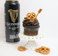 Guinness Skor Pretzel Tipsy Cupcakes 12 (contains alcohol) - Chick Boss Cake London Ontario