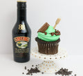 Mint Mudslide Tipsy Cupcakes 12 (contains alcohol) - Chick Boss Cake London Ontario