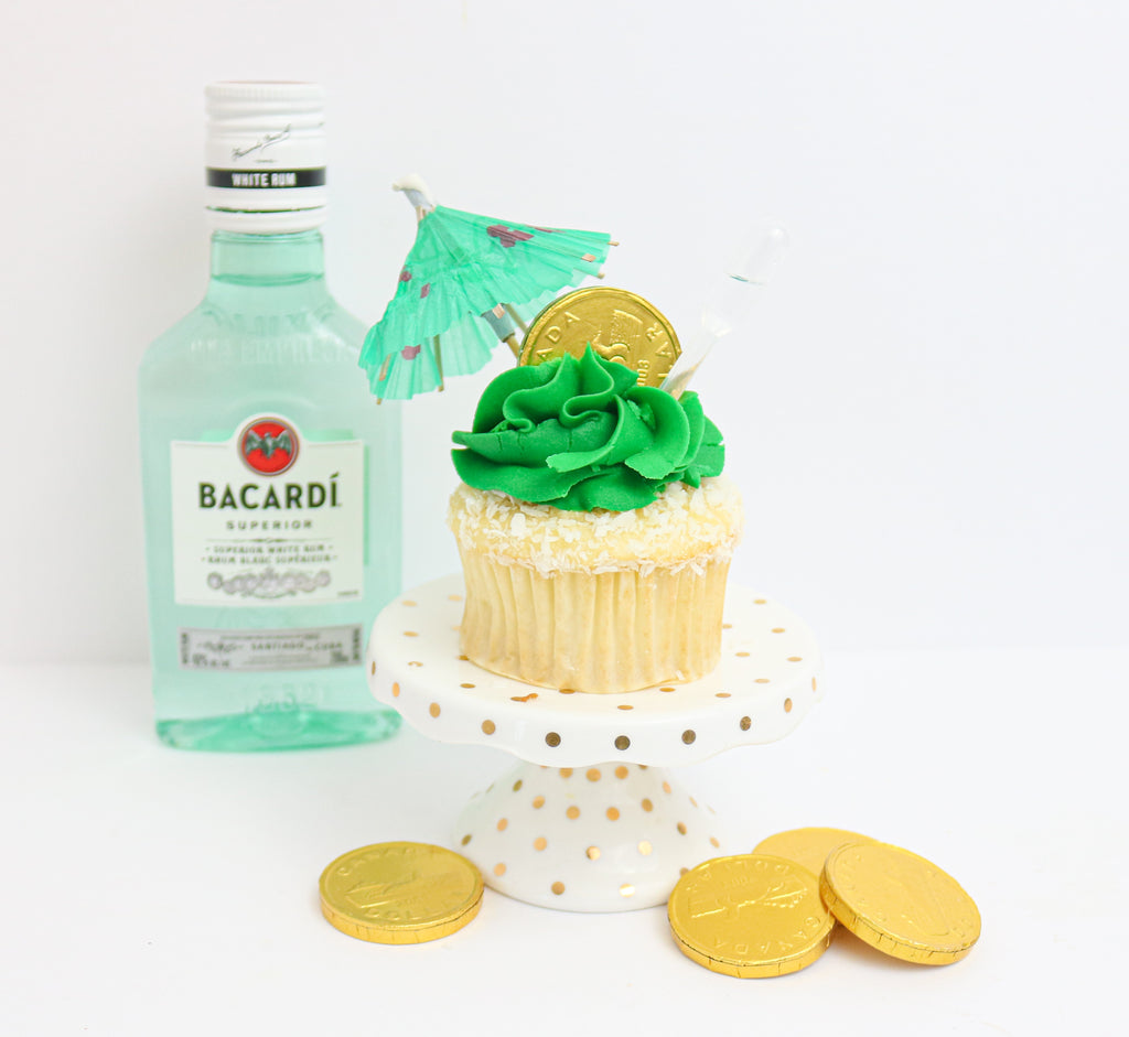 Loonie Lime Tipsy Cupcakes 12 (contains alcohol)