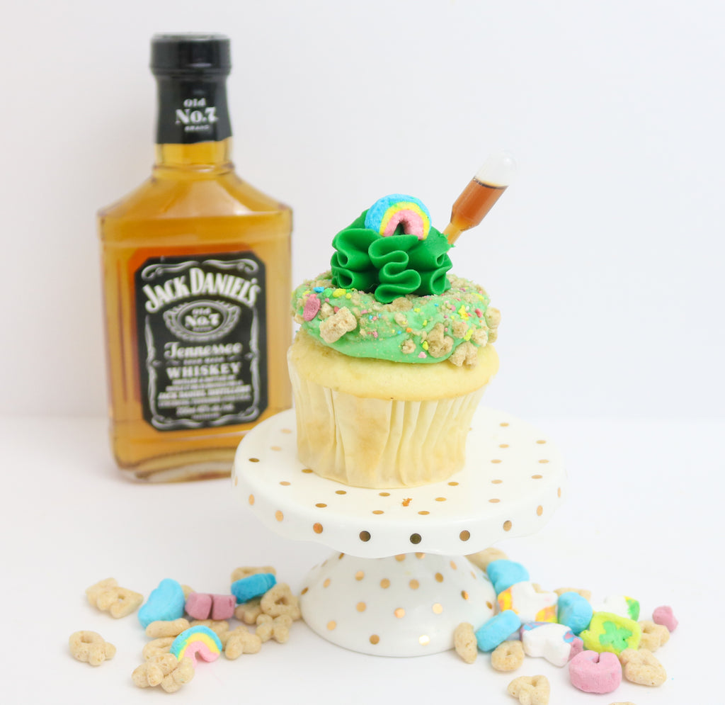 Jack The Leprechaun Tipsy Cupcakes 12 (contains alcohol)