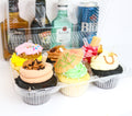 Tipsy Cupcakes (contains alcohol) - Chick Boss Cake London Ontario