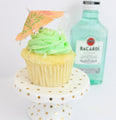 Margarita Lime Tipsy Cupcakes 12 (contains alcohol) - Chick Boss Cake London Ontario
