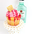 Strawberry Daiquiri Tipsy Cupcakes 12 (contains alcohol) - Chick Boss Cake London Ontario