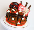 Kit Kat Explosion - Chick Boss Cake