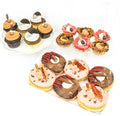 The Triple Threat DUDE Pack (6 donuts, 6 cupcakes, 6 tarts) - Chick Boss Cake