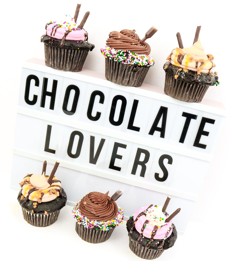 Chocolate Lover's Cupcakes (12)