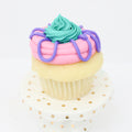 Custom Coloured Cupcakes (12) - Chick Boss Cake