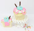 Gender Reveal Cupcakes (12) - Chick Boss Cake