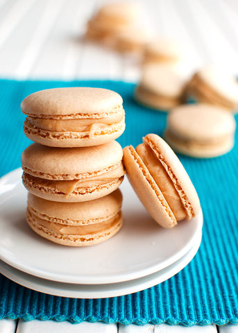 Salted Caramel French Macaron (6 pack)