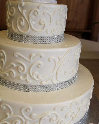 Bling Buttercream Cake