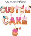 Order a custom cake design! - Chick Boss Cake London Ontario