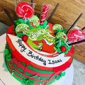 The Grinch - Chick Boss Cake