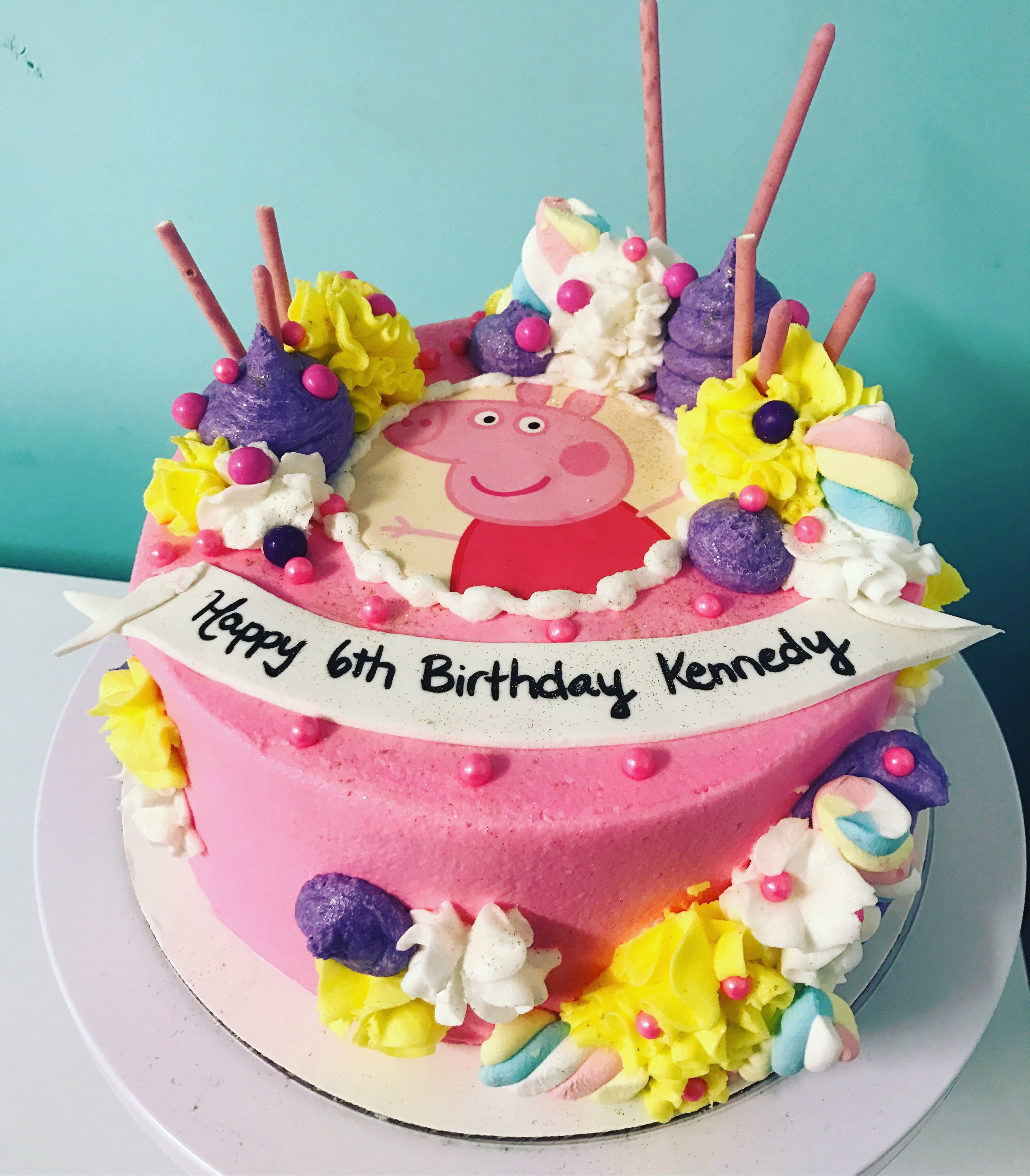 Fantastic Peppa Pig Funny Birthday Cards Online Overcheapnameinfo