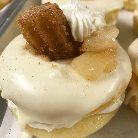 Apple Churro Cake Donuts (12) - Chick Boss Cake London Ontario
