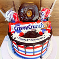 Crispy Crunch - Chick Boss Cake
