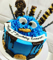 Cookie Monster - Chick Boss Cake