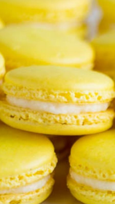 Lemon Meringue French Macaron (6 pack)
